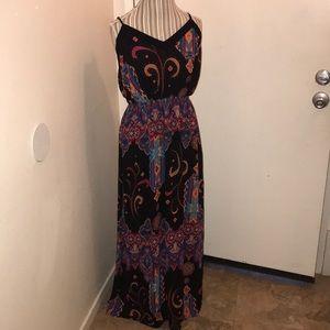 Forever 21 Plus size XL Maxi Dress Multi Color